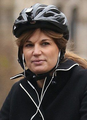 Jemima Goldsmith (pictured), daughter of late billionaire Sir James, now bears a startling resemblance to  self-made businesswoman Karren Brady, better known as Lord Sugar's right-hand woman on The Apprentice