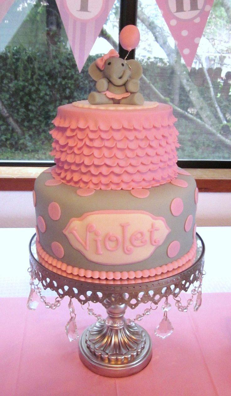Elephant Birthday on Cake Central