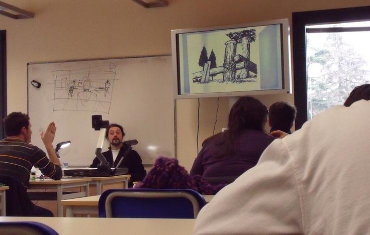 AULA DI FUMETTO. Direzione artistica: Stefano Tamiazzo #scuolainternazionaledicomics #internationalschoolofcomics #stefanotamiazzo