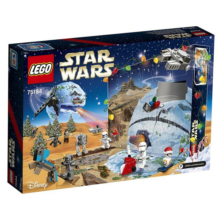 LEGO Star Wars Advent Calendar 75184 Inc Minifigures Accessories And Playmat