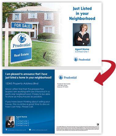 Postcard Design Ideas postcard design guide 01 Prudential Real Estate Postcards By Melinda Schallau Via Behance
