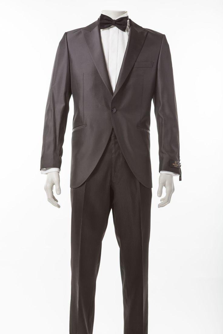 Hochzeitshose anthrazit gestreift      Festliches Herrenhose in anthrazit von Wilvorst     Farbe: anthrazit / schwarz im Streifendesign