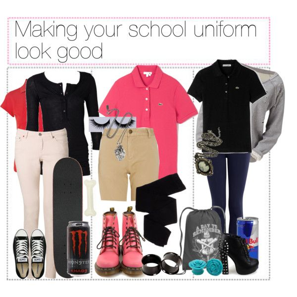 Aug 27,  · SCHOOL UNIFORM OUTFIT IDEAS AKA HOW TO STYLE A SCHOOL UNIFORMS! this was one of my most requested back to school videos, so i HAD to do it. i love watching these videos from meredith foster Author: Kalista Elaine.