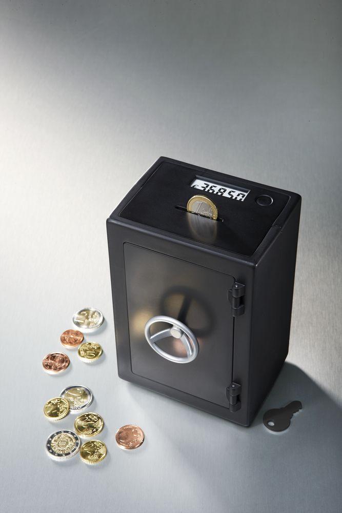 Automatisches Zählwerk mit LC-Display:  Elektronische #Spardose für €14,95 bei #Tchibo