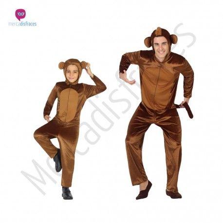 Disfraz de #Mono #Monkey adulto #disfraces para #grupos #comparsas en #mercadisfraces.es tu #tienda de #disfraces #online
