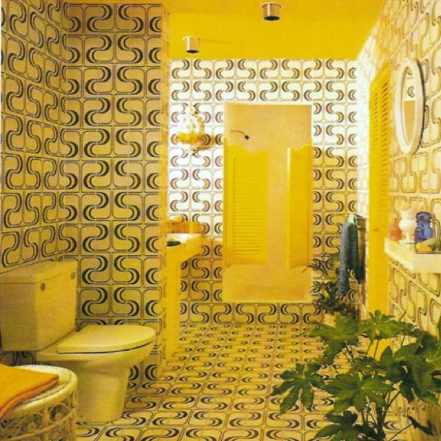 1970s Bathroom Tiles: I Love Your Tile