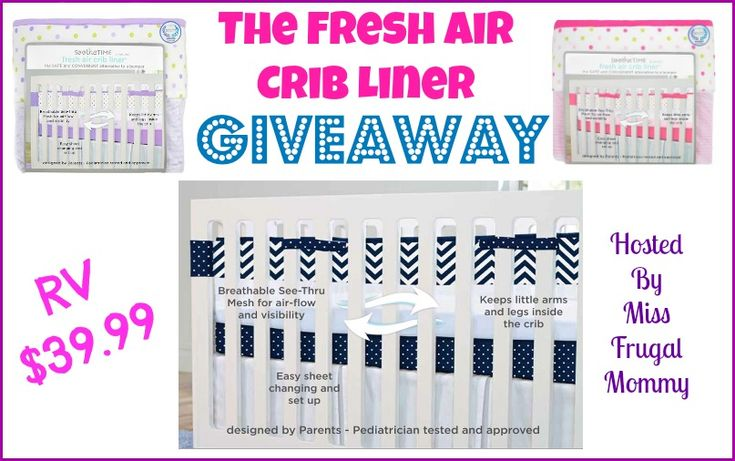 Preparing the Nursery With The Fresh Air Crib Liner *Plus A Giveaway* #ad