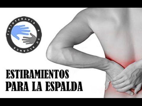 Estiramientos para el dolor de espalda o lumbalgia