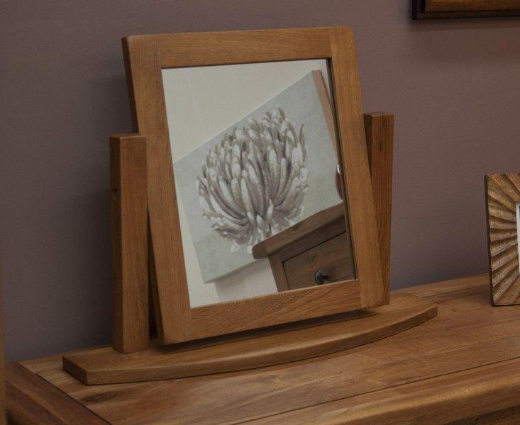 Buy the Bramley Oak Dressing Mirror at Oak Furniture Superstore £189