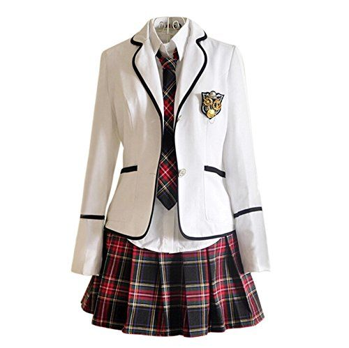 Japan Schuluniform Mädchen Kleid Cosplay Anime Langarm Anzug Mantel Bluse mit Faltenrock (L, CC34-2) Generic http://www.amazon.de/dp/B00RB8G4BI/ref=cm_sw_r_pi_dp_MI53wb0QGGEW5