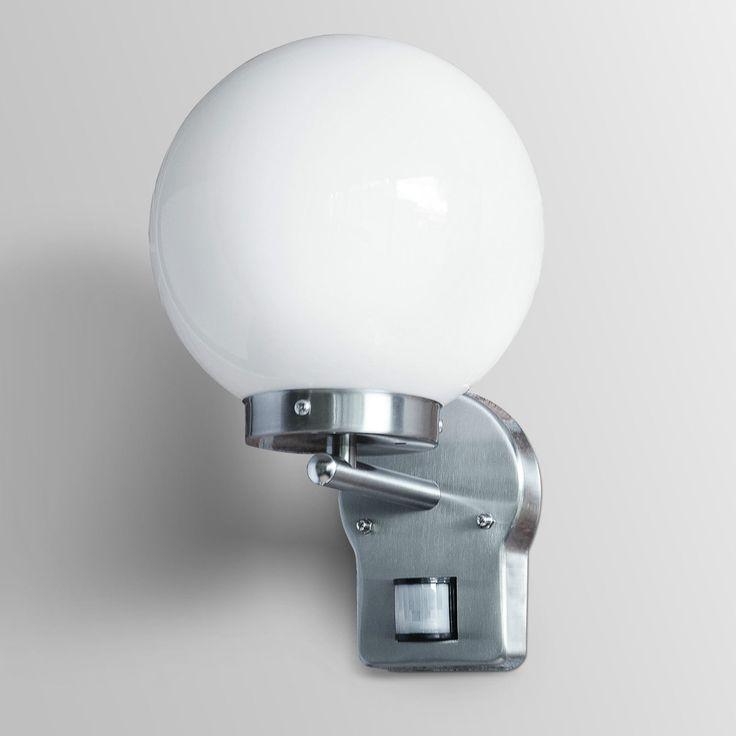 Außenleuchte Wandleuchte Außenlampe Gartenlampe Garten LED E27 Edelstahl Lampe x in Heimwerker, Lampen & Licht, Außenleuchten | eBay