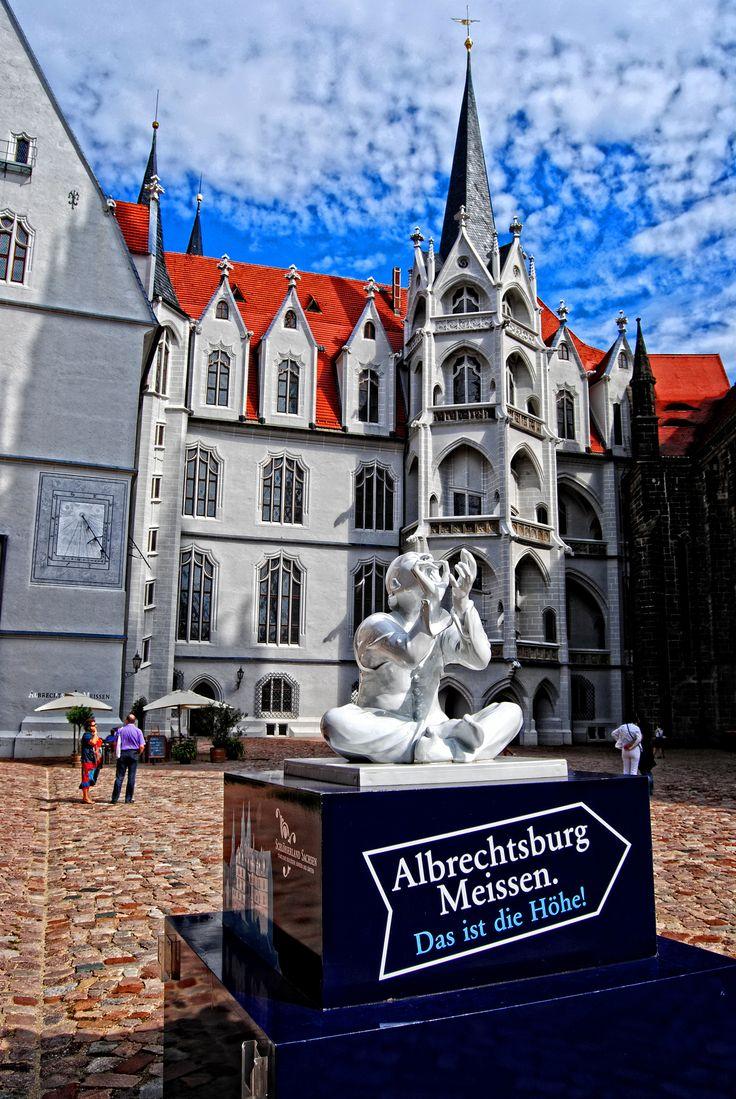 Albrechtsburg, Meissen, Saxony_ Germany