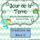 Unité sur l'environnement - Jour de la Terre  Good for French, French Immersion or core French learners!  Great activities all in French for an env...