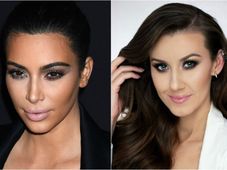 makijaż Kim Kardashian