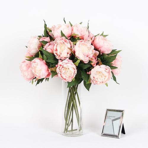 27 best artificial flowers peony images on pinterest art flowers silk peony stem in light pink 20 tall mightylinksfo