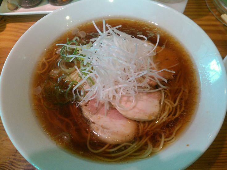 ラーメン 芝浜「朝ラーメン定食 醤油(米朝)」