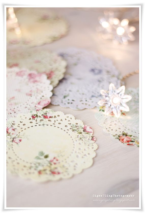 Stamp on Doilies