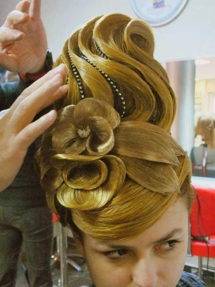 Wunderbare Orientalische Haarschnitt Frisuren Stil Haar Haar Styling Ballroom Frisur Haarschnitt