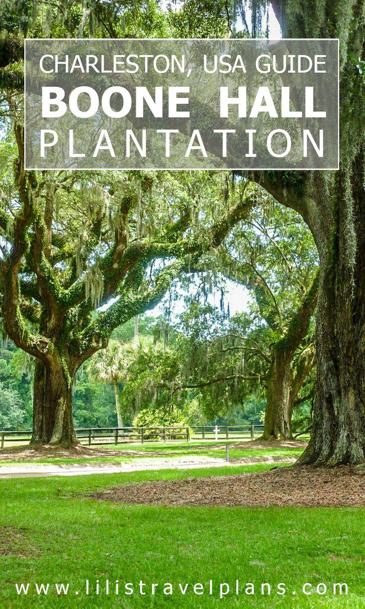 Guide to Boone Hall Plantation, Charleston, South-Carolina, USA