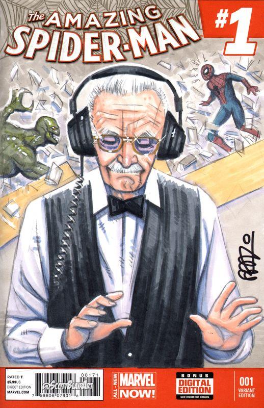 The Amazing Spider-Man Stan Lee Cameo - Scott Blair