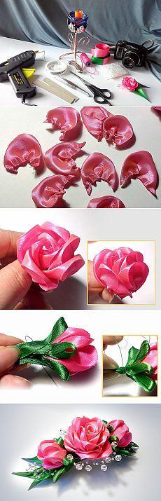 Розовое настроение / Конкурсы / Цветочное рукоделие