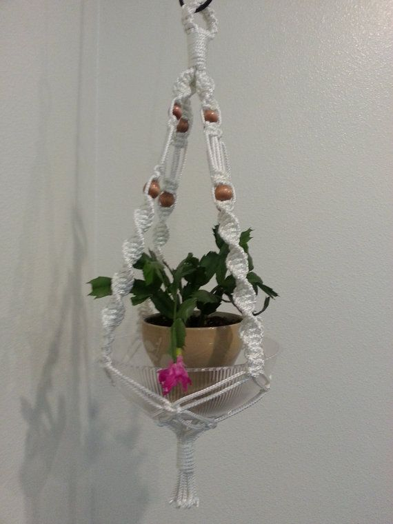 5 minute macrame plant hanger 137 best images about macrame plant hangers tutorials on 7305