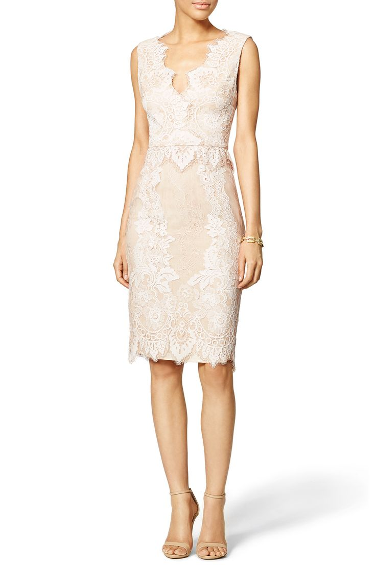 Champagne bliss sheath by erin erin fetherston for 65 for Renting dresses for wedding