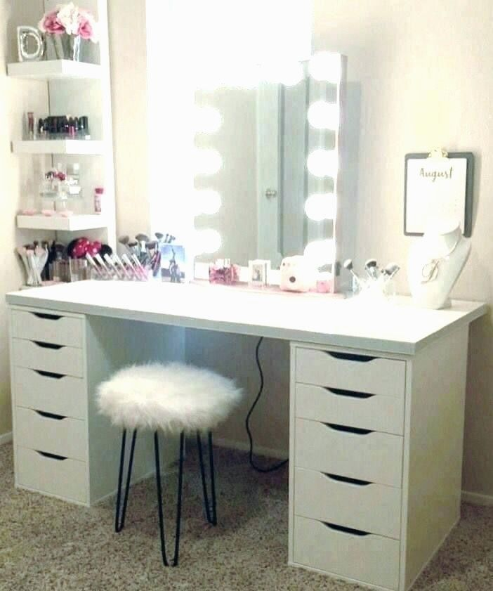 Hottest Free Of Charge 36 New Makeup Vanity With Lights Ikea