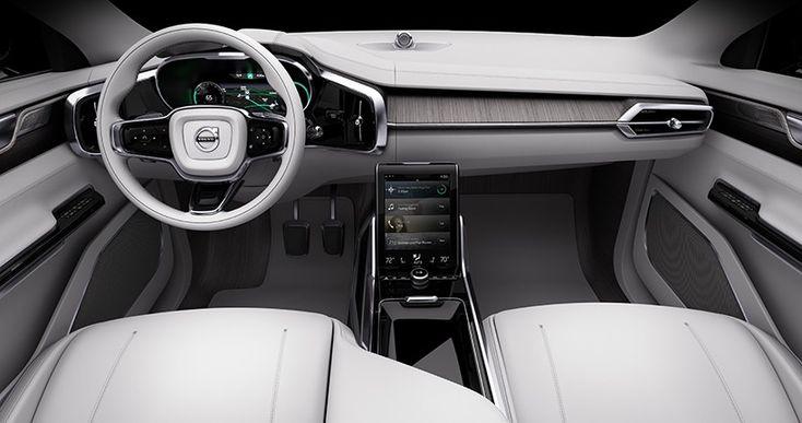 volvo concept 26 autonomous driving interior designboom 02 car design pinterest. Black Bedroom Furniture Sets. Home Design Ideas