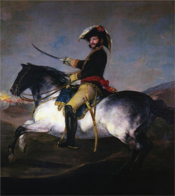 General Jose de Palafox - Francisco Goya, 1814