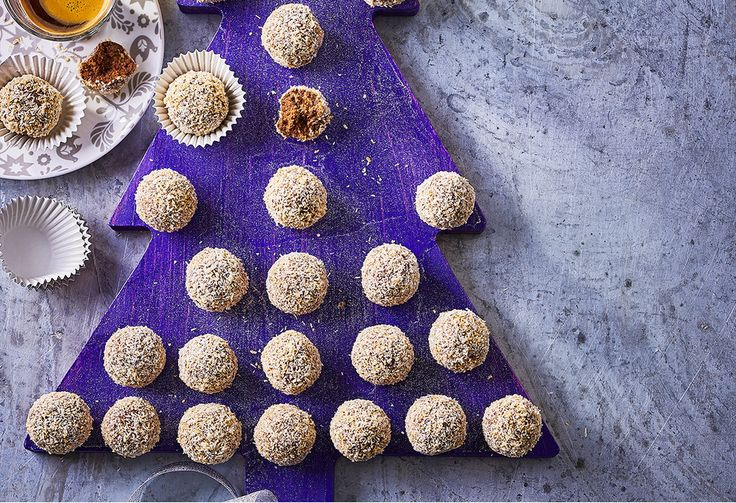 When you're after a festive sweet but don't want any hassle, these chocolate mint truffles are your answer. Bring to a Christmas party, or give as a gift.