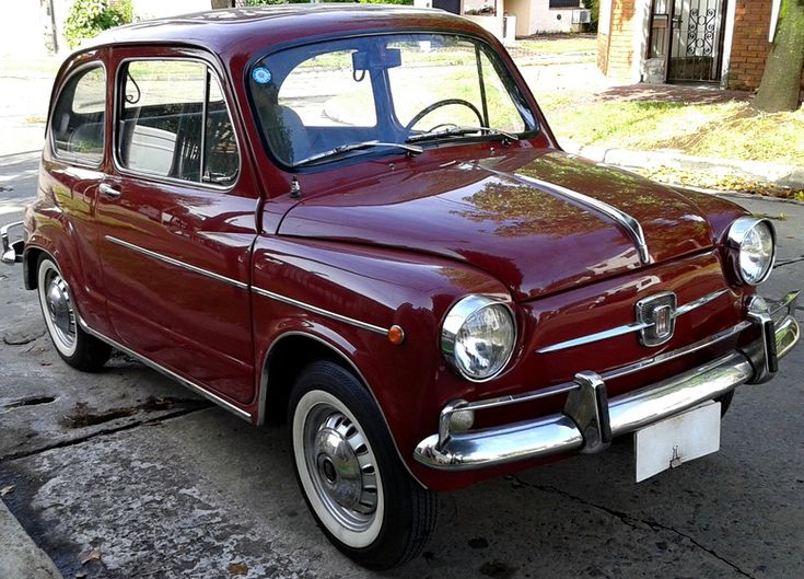 #Fiat #600 E modelo 1967. http://www.arcar.org/fiat-600-77369