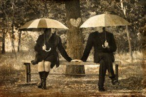 Rainy Day Dates | Stretcher.com -  Don't let weather damper your dating barometer