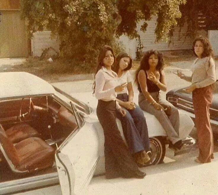 In My Car: Latina Fashion, Retro Fashion, Aesthetic