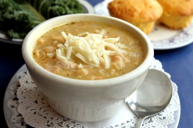 Best white chili recipe - from the Blue Owl in Kimmswick, MO. Great place to eat if you are ever in the St.Louis area.