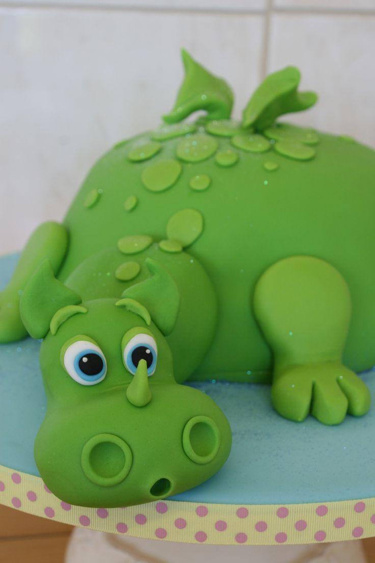 Dinosaur Wedding Cake Rings