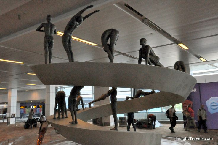 There s a more permanent form of yoga in terminal 3 of for Decor international delhi