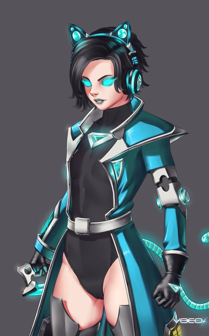 Raeve by vocox Love this style just a bit to much showing skin. My child get your old Raeve skin back plz