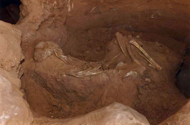 9' GIANT IN UTAH GRAVE (notice the skull)  This is an interesting site, if you like bizarre finds