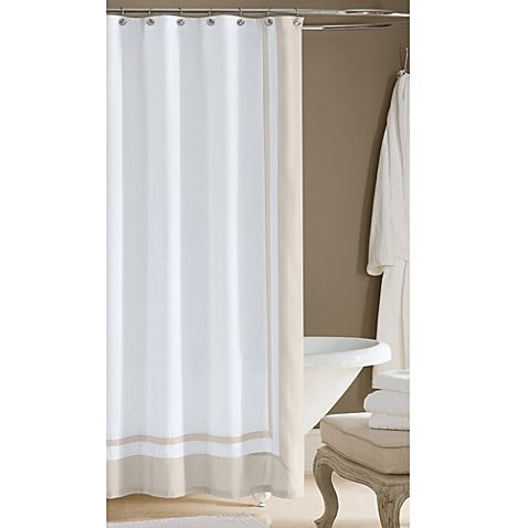 Create The Look And Feel Of A Hotel Worthy Bathroom With This Cotton Sateen Shower Curtain From