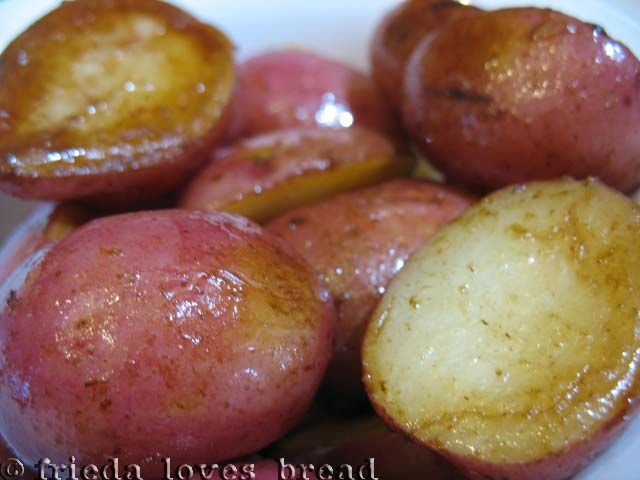 Electric Pressure Cooker Roasted Baby Red Potatoes in 10 Minutes!