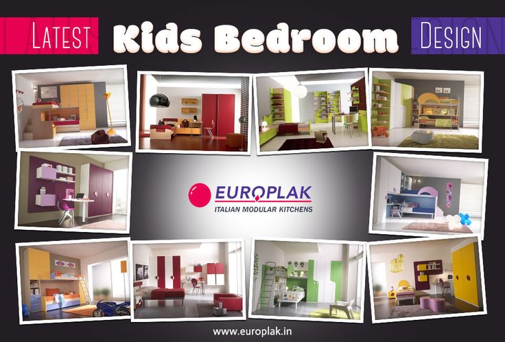 Check out Europlak India's latest Kids bedroom designs to find inspiration and ideas for redecorating your kid's bedroom. Visit : http://www.europlak.in/ #EuroplakIndia #ModularKitchen #KidsBedroomDesigns
