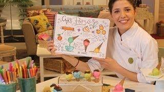 Dulce Arte (Isabel Vermal) ►Mini Cake de Chocolate◄.avi, via YouTube.