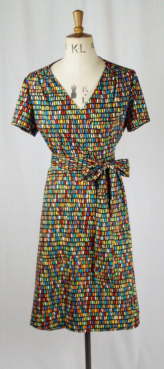 Baylis & Knight Multi Colour Block Rainbow Tie by BaylisandKnight