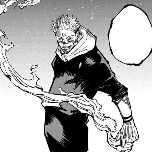 Sukuna Manga Icon In 2021 Jujutsu Comic Layout Anime Soul