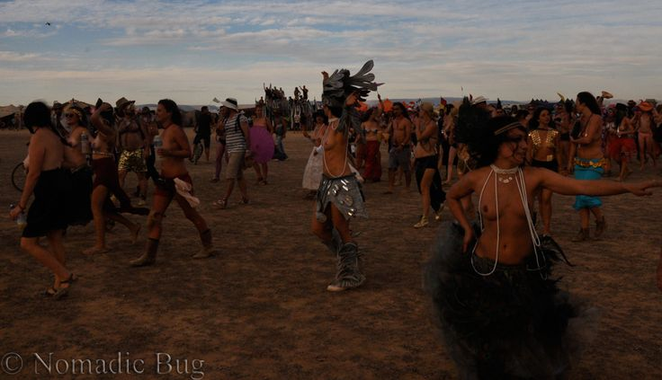 Critical tits TOPLESS PARADE, Tankwa Town, AfrikaBurn, SOUTH AFRICA Nomadic Existence