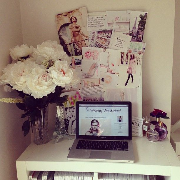 home office, cute desk