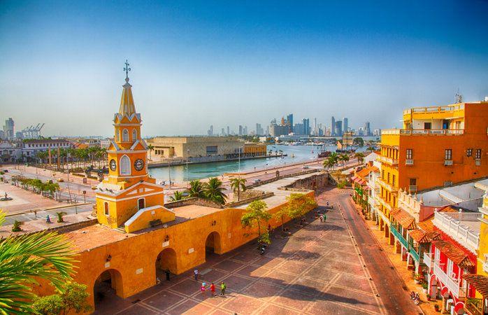 As contagiantes cores de Cartagena, parada imperdível na Colômbia #momondo #Colombia