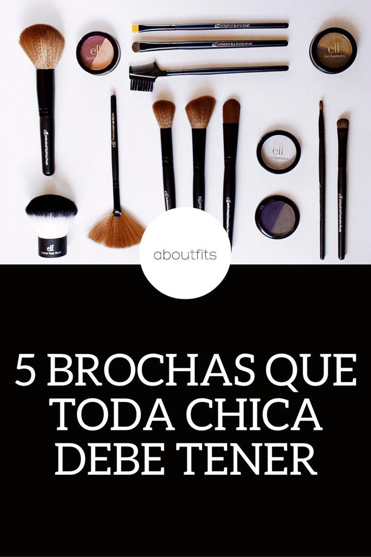 5 BROCHAS BÁSICAS QUE TODA CHICA DEBE TENER - @ELFCOSMETICS elf maquillaje