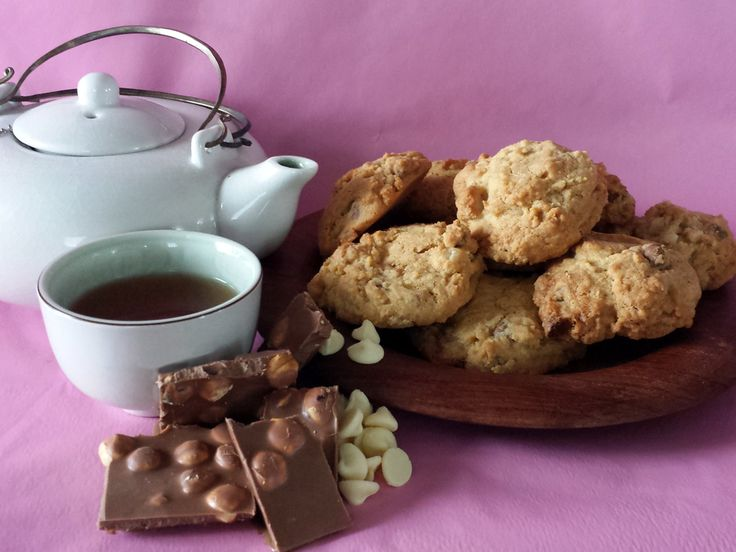 Rebel Without A Pause Double-choc Macadamia Biscuits